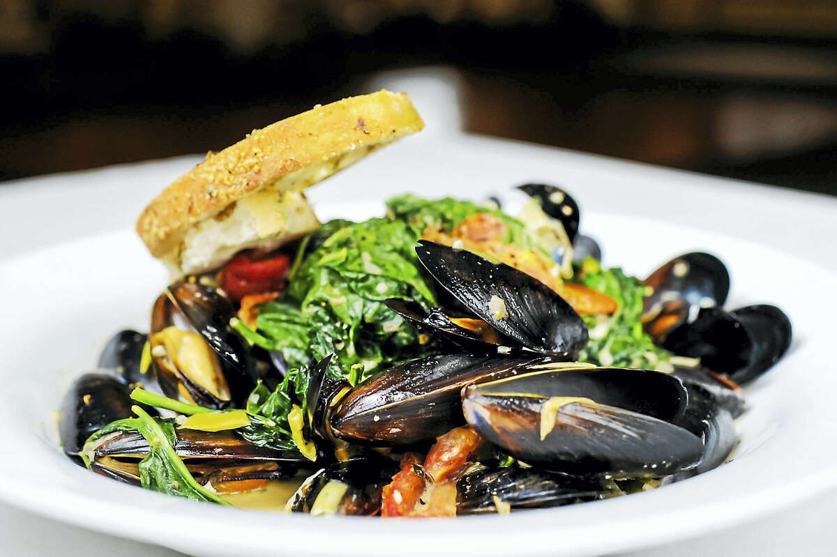Baci Grill in Cromwell is taking part in the Taste of Middlesex County which starts Saturday. Shown are steamed littleneck clams, part of the $20.16 prix-fixe menu.
