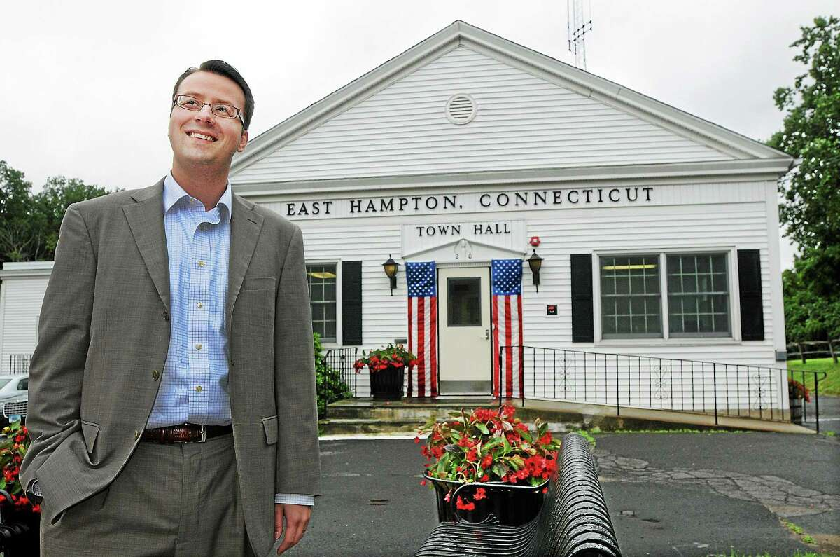 East Hampton Town Manager Michael Maniscalco says the town is facing a building wave of mandatory expenses.