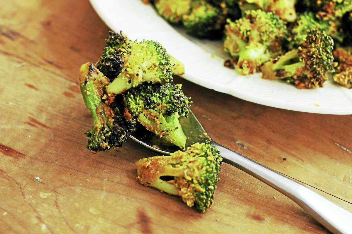 This recipe gives you both a new way to season and a speedy way to roast broccoli.