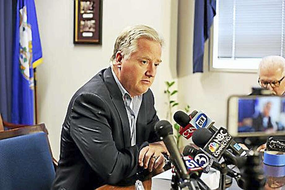 House Speaker Brendan Sharkey, D-Hamden Photo: Christine Stuart Photo