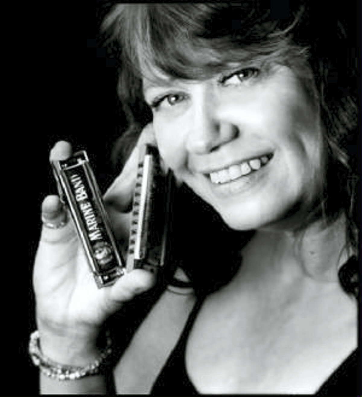 Contributed photoBoston's top shelf Blues Lady, Cheryl Arena, joins other musicians at Black-Eyed Sally's on Saturday for the Northeast Blues Harmonica Showcase.