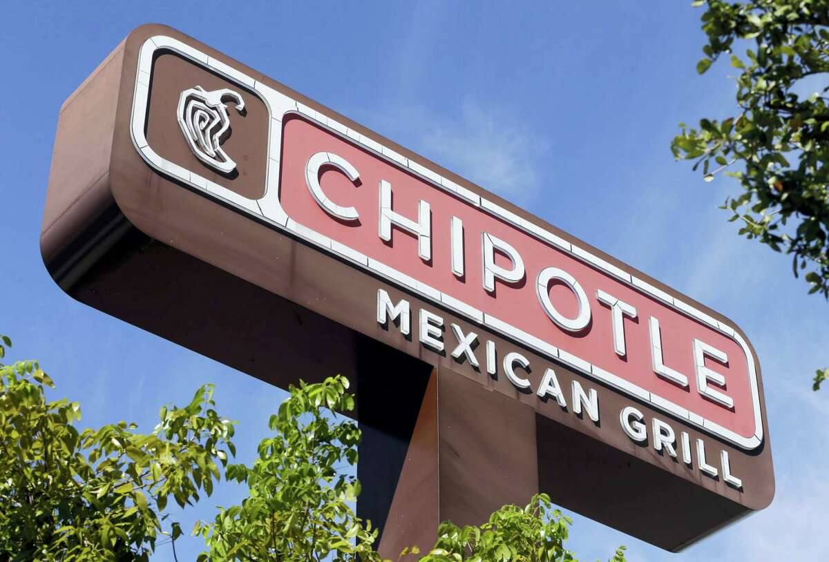 The sign of a Chipotle restaurant in Hialeah, Fla.