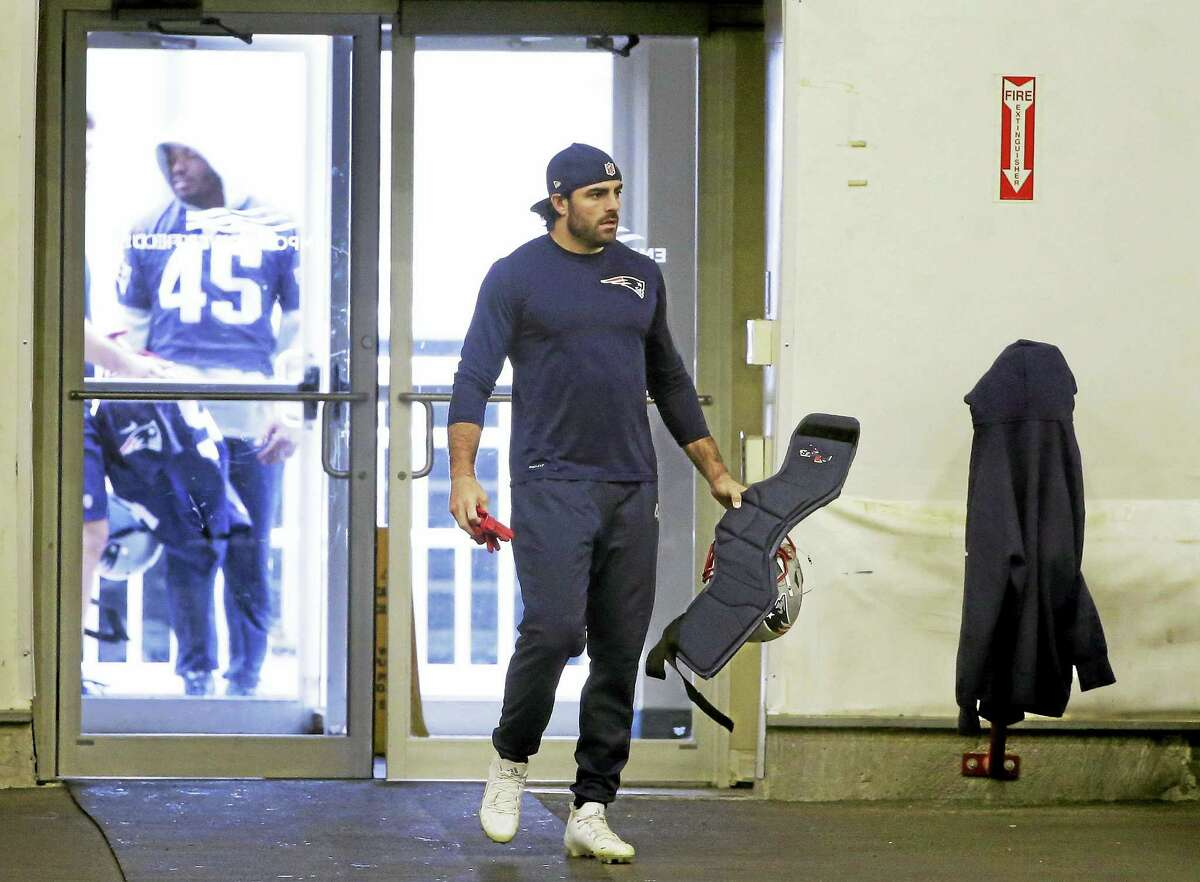 Patriots defensive back Nate Ebner.