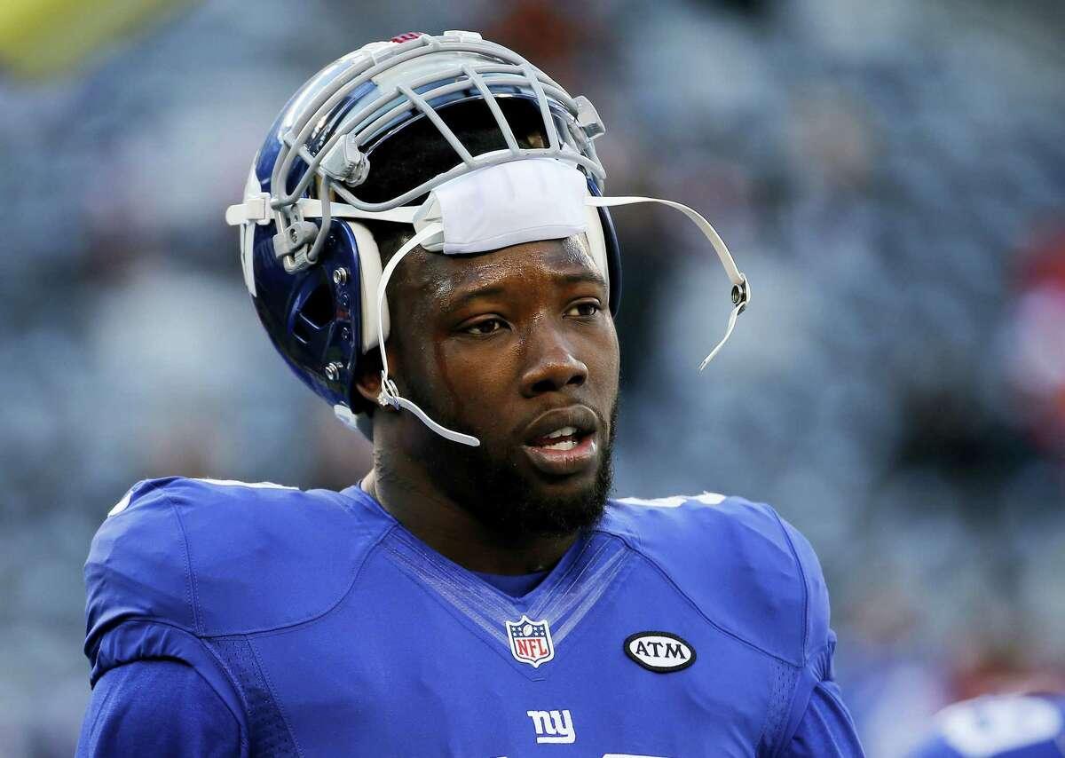 New York Giants defensive end Jason Pierre-Paul.
