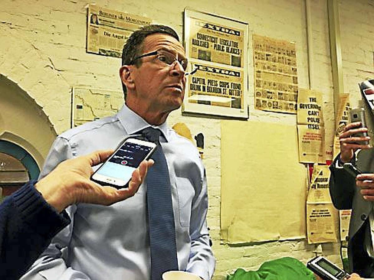 Gov. Dannel P. MalloyChristine Stuart - CT News Junkie