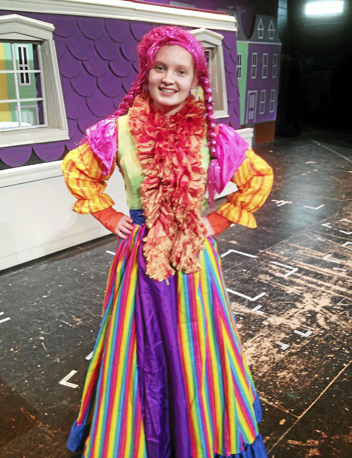 """Jessica Black is part of the middle/high school joint production of """"Mary Poppins"""" this weekend at the Portland high/middle school."""