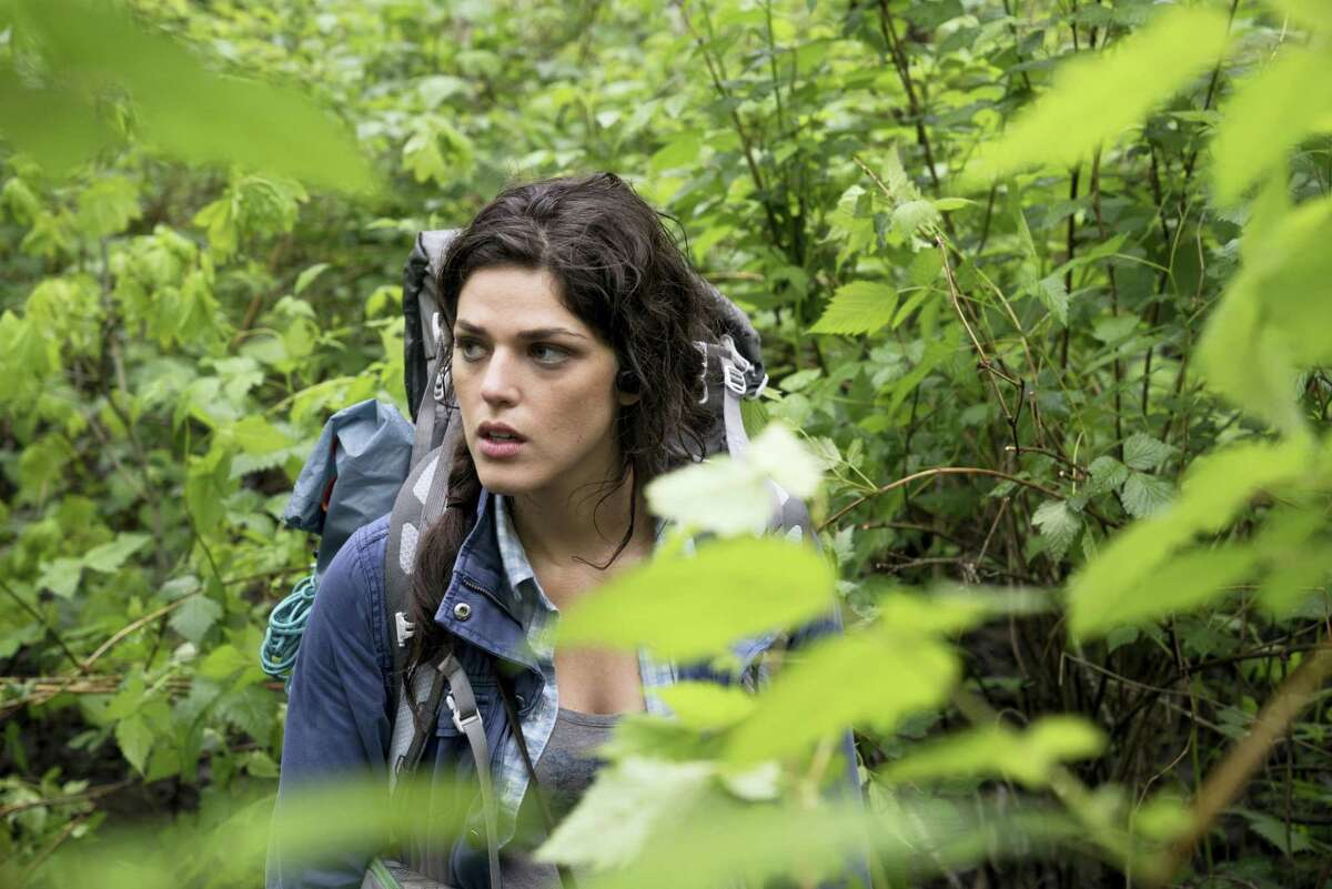 """This image released by Lionsgate shows Callie Hernandez in a scene from """"Blair Witch."""""""