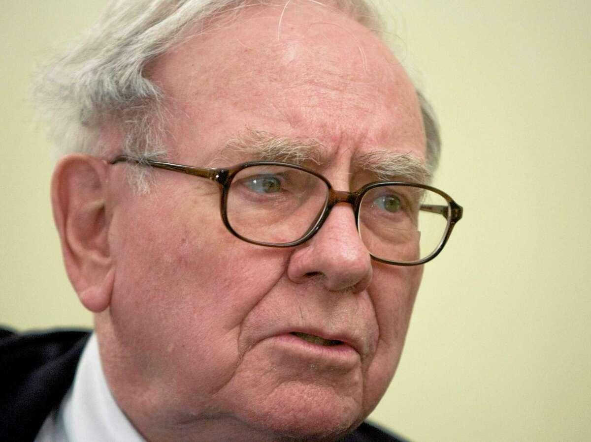 U.S. Billionaire investor Warren Buffet.