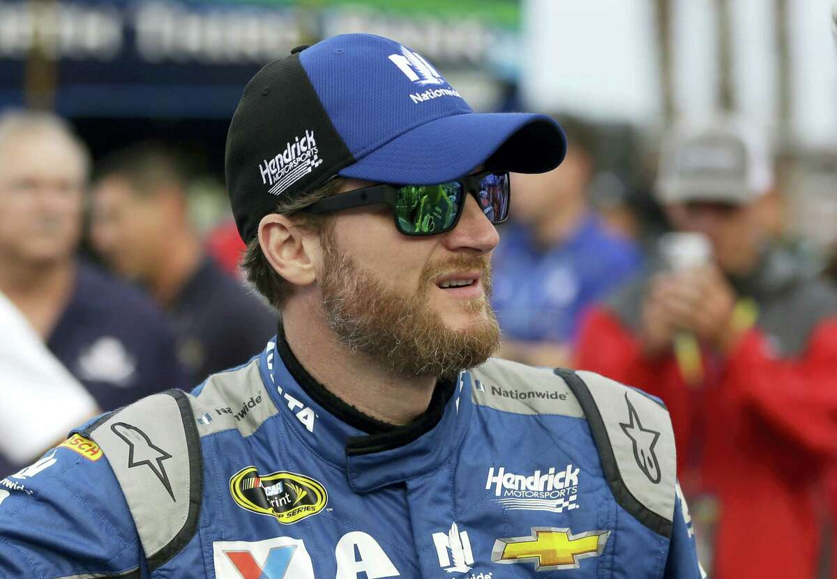Dale Earnhardt Jr. will not race this weekend in New Hampshire after being diagnosed with concussion symptoms.