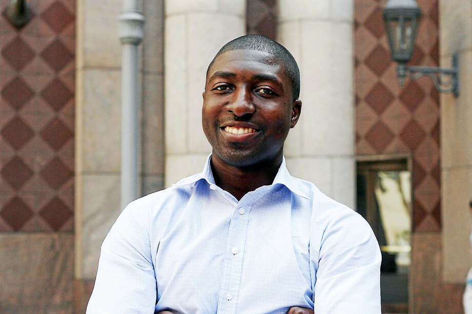 Middletown native Gil Addo was recently honored as a member of the Forbes 30 Under 30 List for Healthcare. Addo, who now lives in Manhattan, co-founded a digital health company three years ago. Photo: Courtesy Photo
