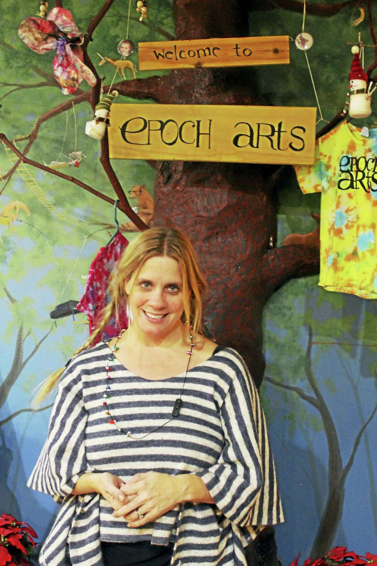 Founder Elizabeth Namen began what is now Epoch Arts in 1998 at the Haddam Neck Grange Hall. The youth organization has flourished for nearly two decades, now occupying the 42,000-square-foot former bell and toy factory, N.N. Hill Brass Company, on Skinner Road.