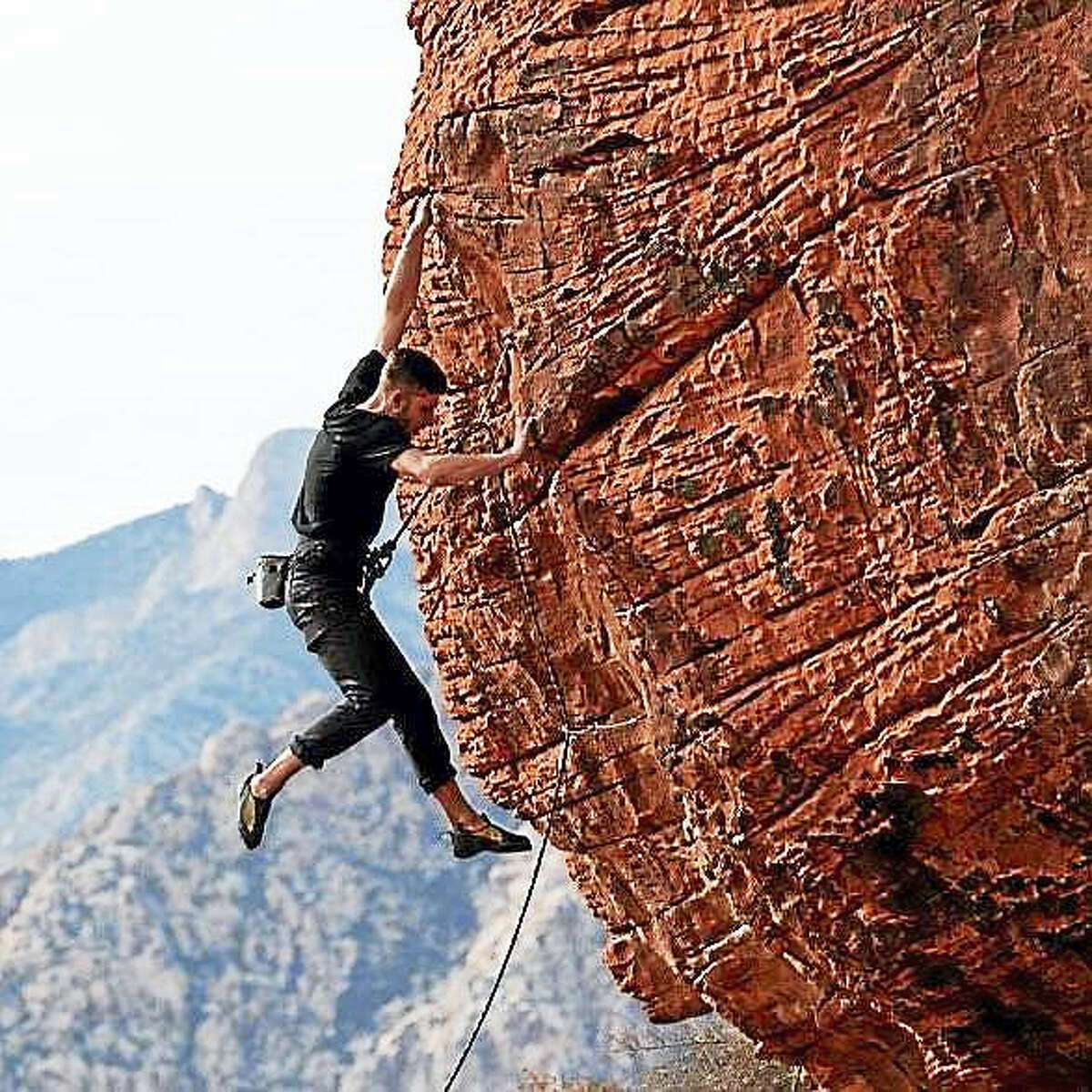 Contributed photo A service is planned Saturday in Middletown for world-class rock climber Phillip Schaal, 35, who passed away unexpectedly Oct. 22.