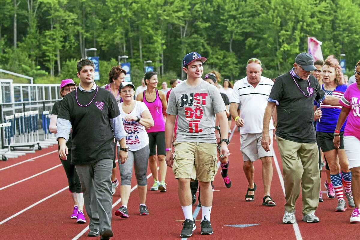 The first annual goPINK Fun Run/Walk was held Sept. 11 at Middletown High School. Mayor Dan Drew and Deputy Mayor Robert Santangelo led a memorial lap in honor of those who died 15 years ago on 9/11. The event raised almost $4,000.