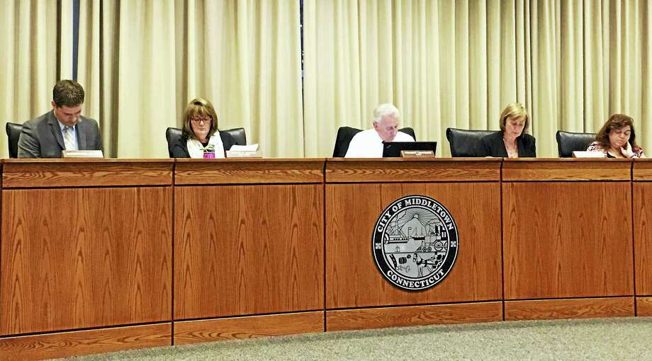 On Tuesday, the Middletown school board voted unanimously against renewing its contract with Sodexo for the 2016-17 fiscal year. Photo: Sam Norton — The Middletown Press