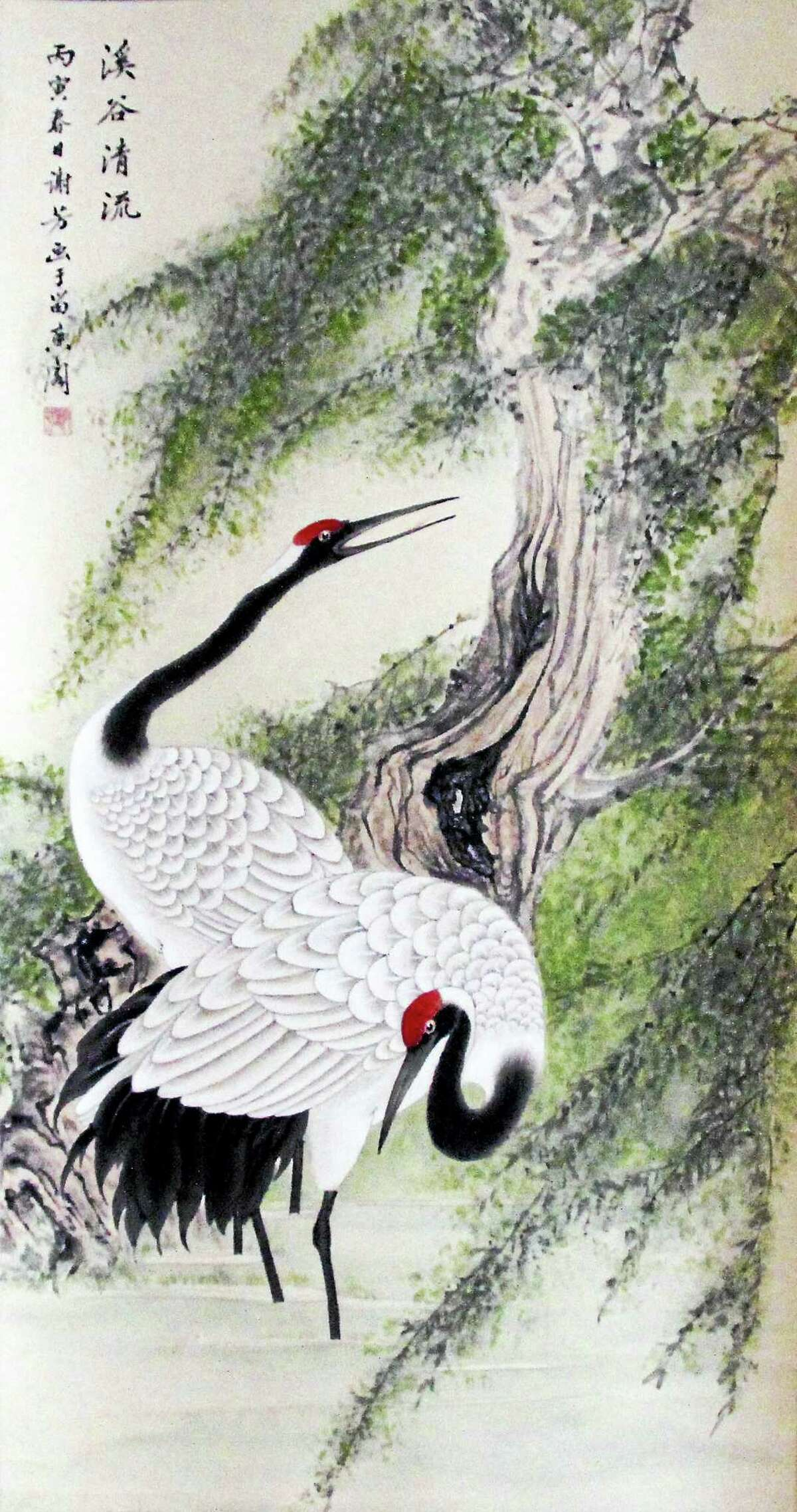 The Art Guild of Middletown is pleased to present a Chinese brush painting demonstration by Amy Fang Xie at 7:00 p.m. Thursday, October 13, at the Woodside Intermediate School, 30 Woodside Road, Cromwell, CT. Meetings of the Guild are free and open to the public; donations are accepted. The Art Guild's website is www.middletownartguild.org. For more information, you may contact the Art Guild at artguildofmiddletown@gmail.com.