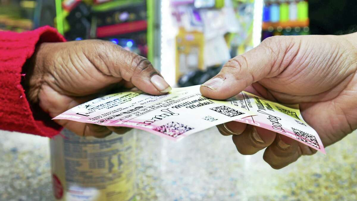 Tickets for Saturday's Powerball drawing.