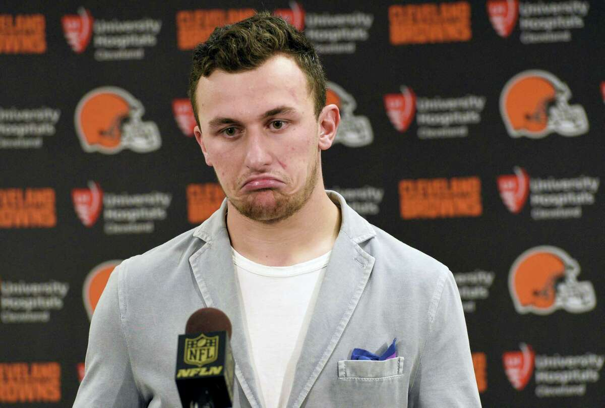 The Browns have released troublesome quarterback Johnny Manziel. The team cut ties on Friday with the 2012 Heisman Trophy winner after two disappointing, drama-filled seasons.
