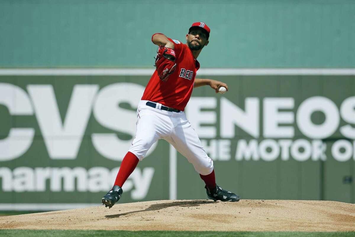 Boston Red Sox starting pitcher David Price.