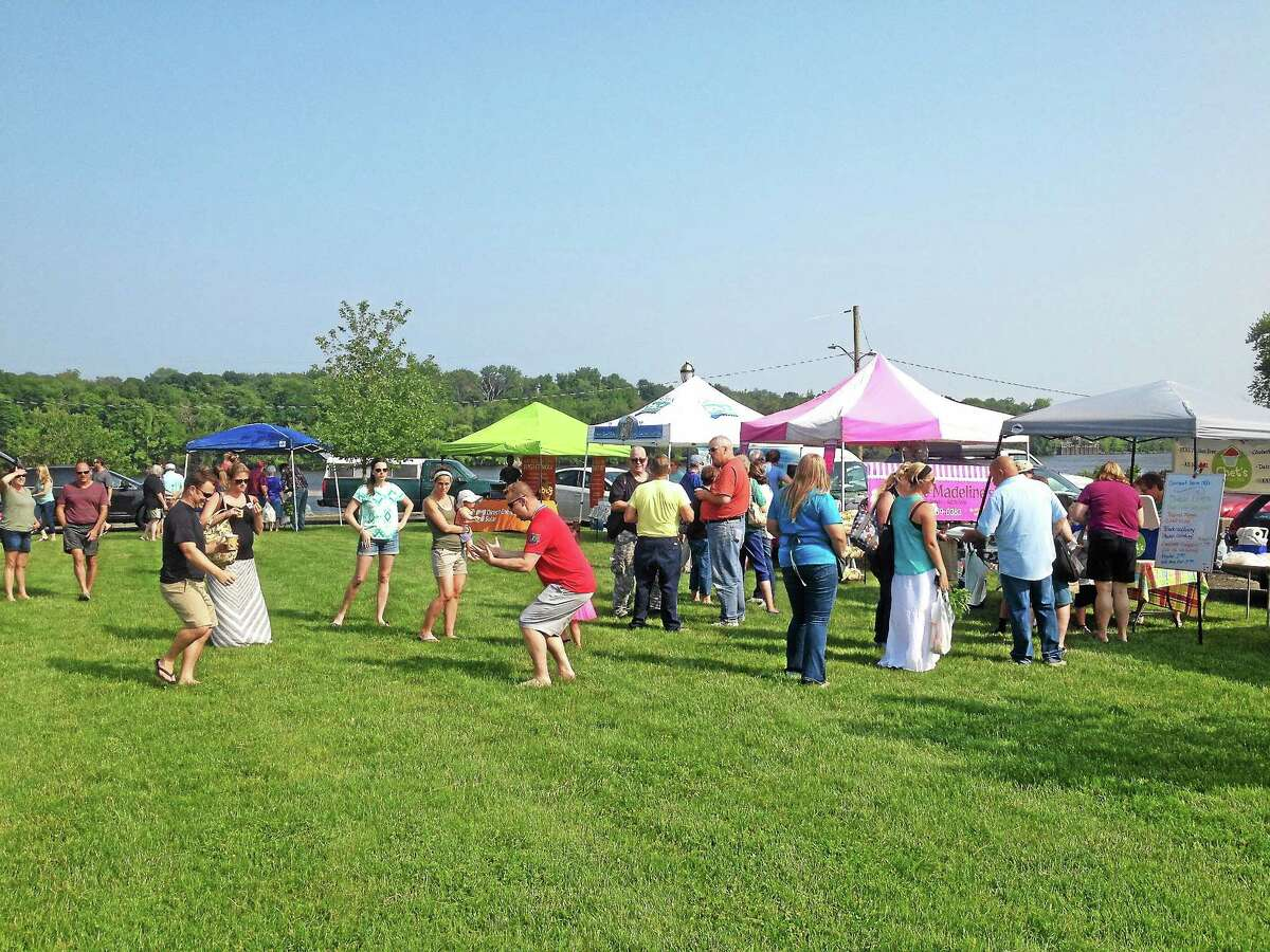 The Cromwell Farmers Market opened its inaugural season last year with 20 vendors selling their wares at Frisbie Park.