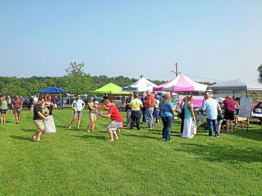 The Cromwell Farmers Market opened its inaugural season last year with 20 vendors selling their wares at Frisbie Park. Photo: File Photo