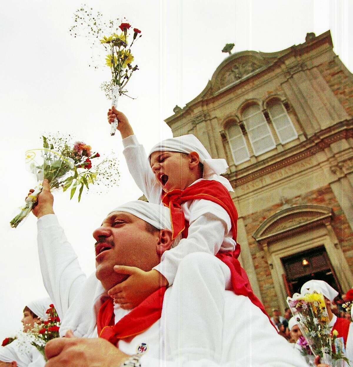 The 2014 Feast of St. Sebastian in Middletown