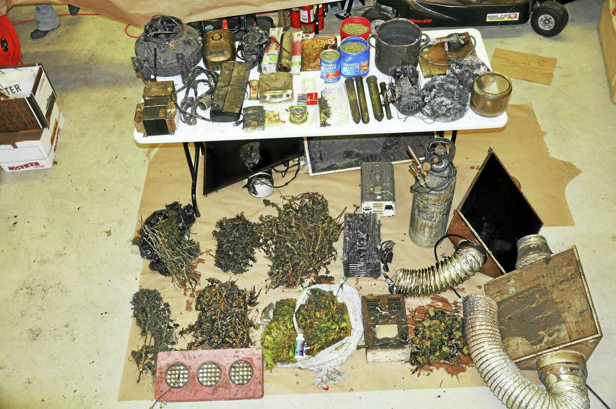 More than six pounds of marijuana worth $21,000 was found in a Robin Lane home after a fire in mid-February, resulting in the arrest of the residents on a slew of charges.