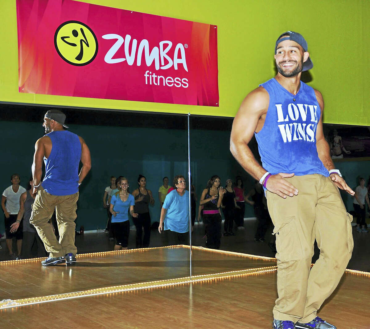 Veteran Zumba instructor Freddie De Jesus will lead students in fitness dance demos at the first health and wellness fair at Middletown High School on Wednesday.