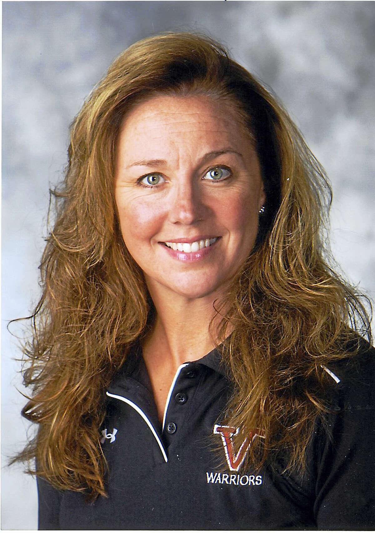 Virginia King, physical education teacher at Valley Regional High School in Deep River.