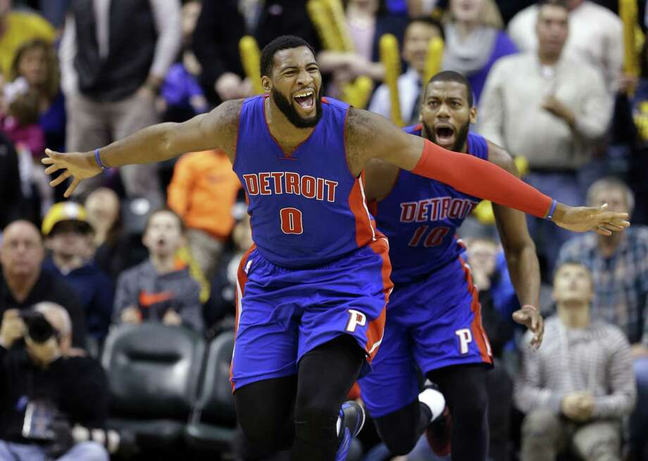Detroit Pistons center Andre Drummond (0) has proven his contributions go much further than points and rebounds. The former Middletown resident is one of 10 finalists for the NBA Cares Community Assist Award. He has selected Middlesex YMCA as his charity of choice. Photo: The Associated Press  / AP