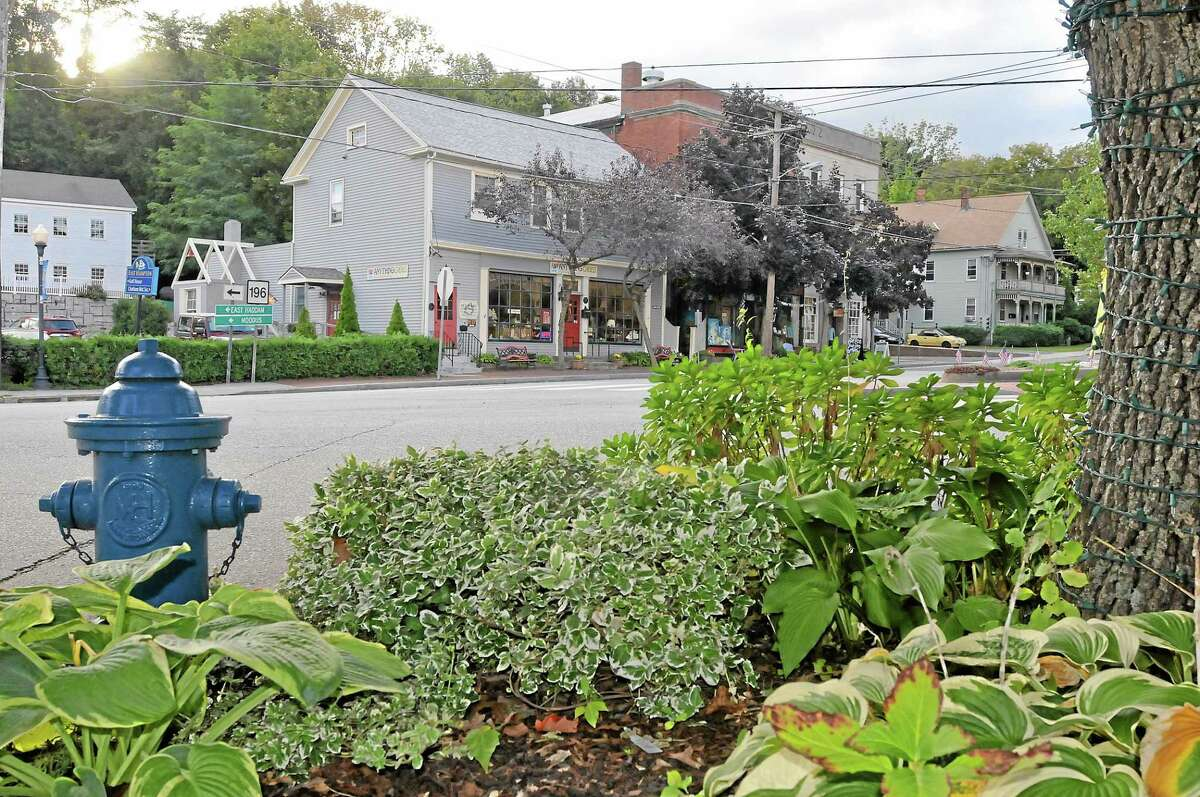 The historic East Hampton Village. Catherine Avalone - The Middletown Press