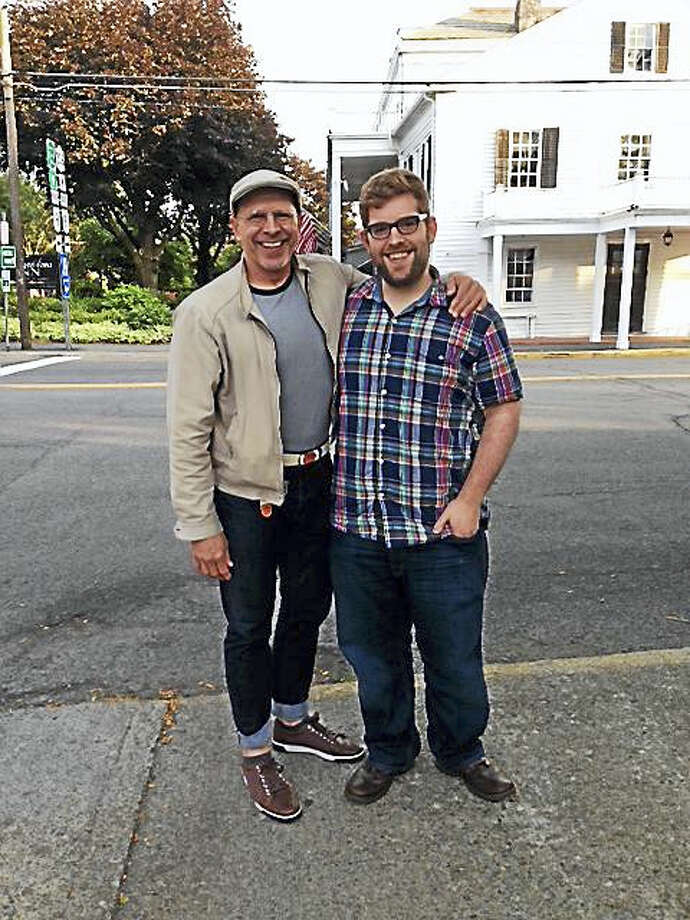 """Contributed photoWriting partners John Dietrich and Will Buck are heading to the Goodspeed's fesival with their play, """"Once Anne."""" Photo: Journal Register Co."""