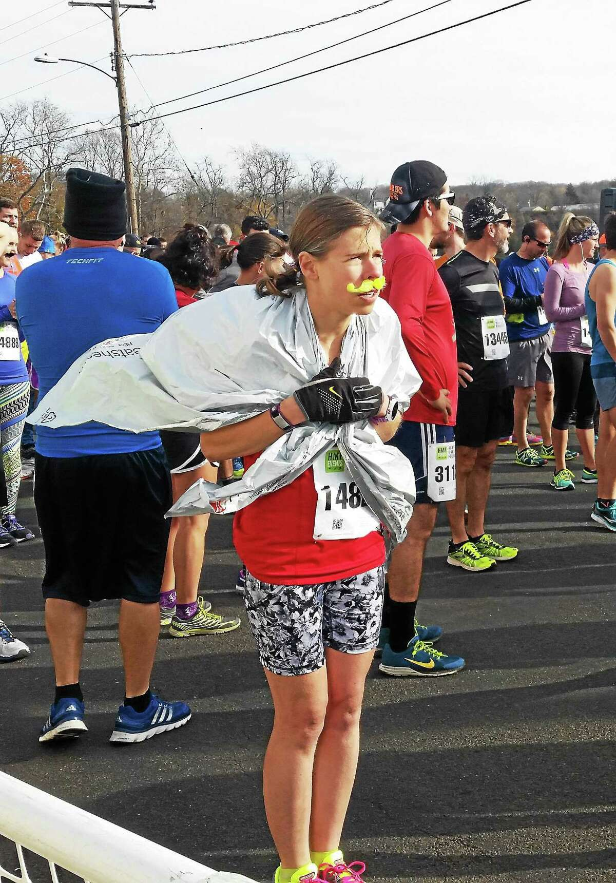The 959 runners who competed in The Hartford Marathon Movember 5K in 2015 made their way from the Brownstone Discovery Park in Portland, over the Arrigoni Bridge, then crossed the finish line at the Mattabesett Canoe Club in Middletown.