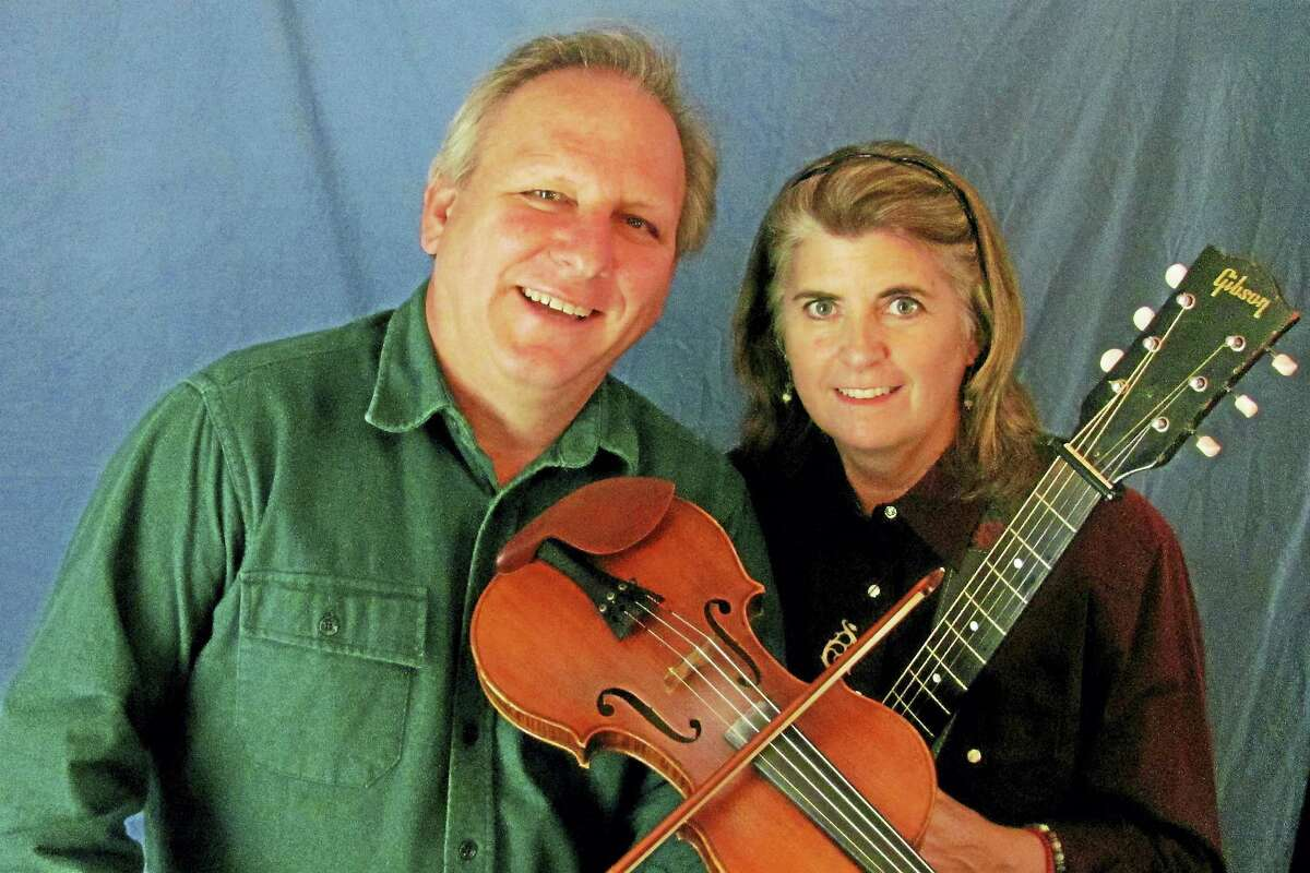 John Kirk and Trish Miller will play the Branford Folk Music Society's monthly concert series on Saturday.