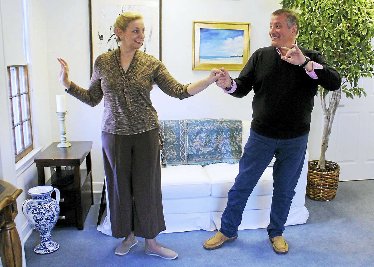 """Contributed photoThe Ivoryton Playhouse's play, """"Six Dance Lessons in Six Weeks"""" continues through May 22."""