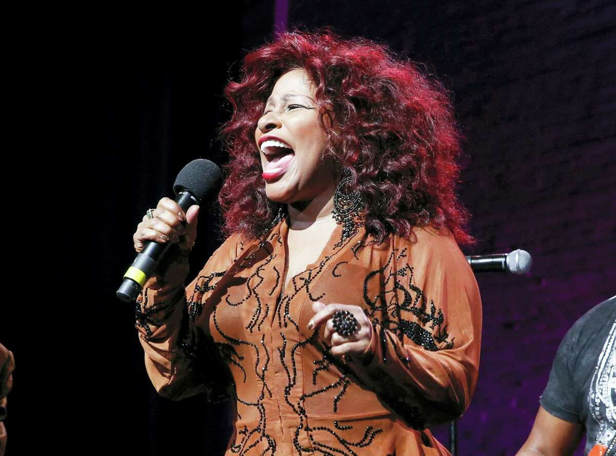 """In this Oct. 24, 2014 photo, Chaka Khan performs at the 13th annual """"A Great Night in Harlem"""" gala concert in New York."""