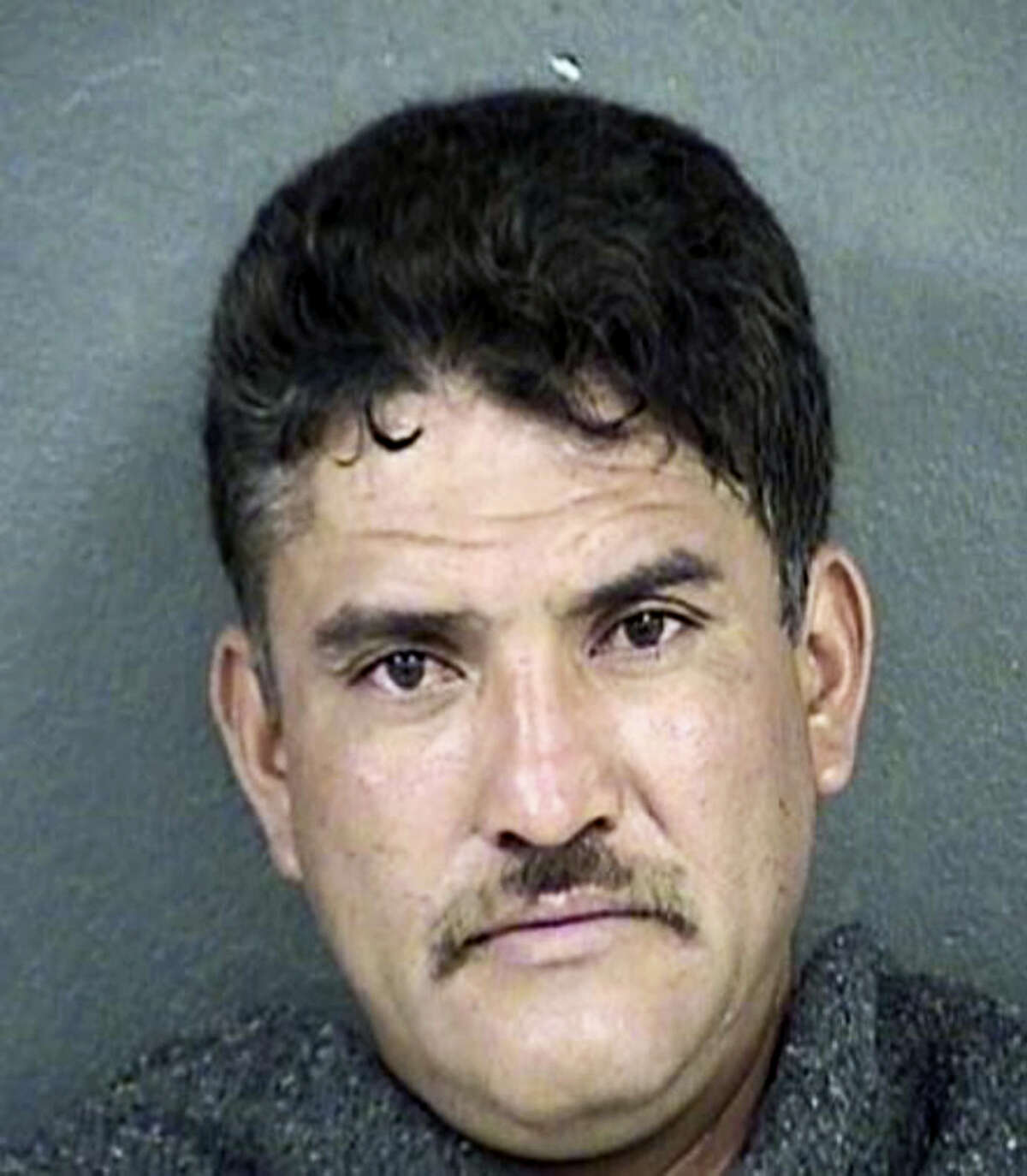 This undated photo provided by the Kansas City, Kan. Police Department on Tuesday, March 8, 2016, shows Pablo Serrano. Serrano is suspected of fatally shooting four people at his neighbor's home in Kansas before killing another man about 170 miles away in a rural Missouri house not far from where his truck was found abandoned.