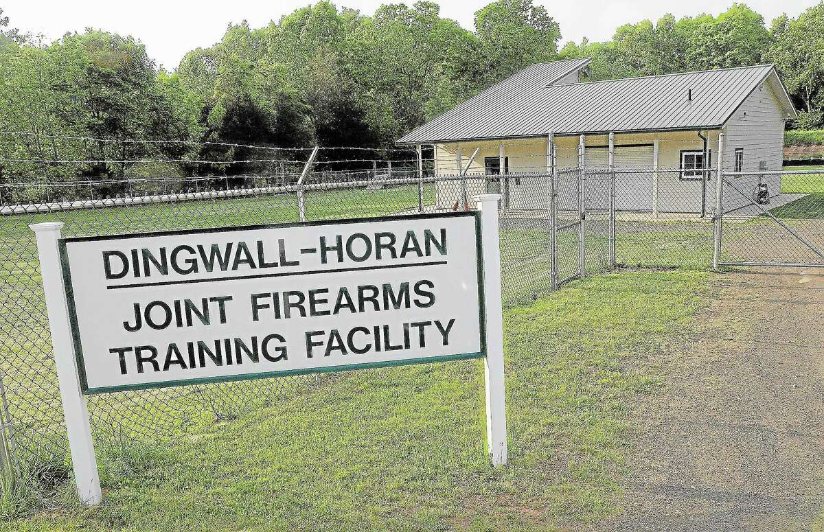 The Dingwall-Horan Joint Firearms Training Facility, 260 Meriden Road in Middlefield.