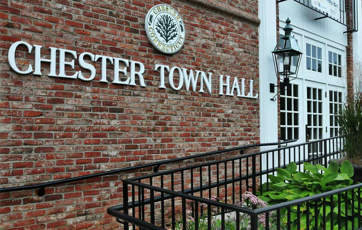 Chester Town Hall. Catherine Avalone - The Middletown Press