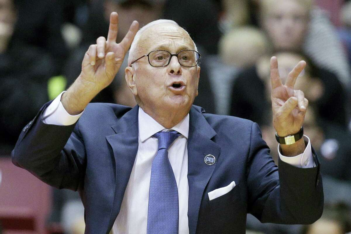 SMU men's basketball coach Larry Brown says he is resigning, ending a four-year run during which the Mustangs made the NCAA tournament for the first time since 1993 and then were banned from postseason play last season.
