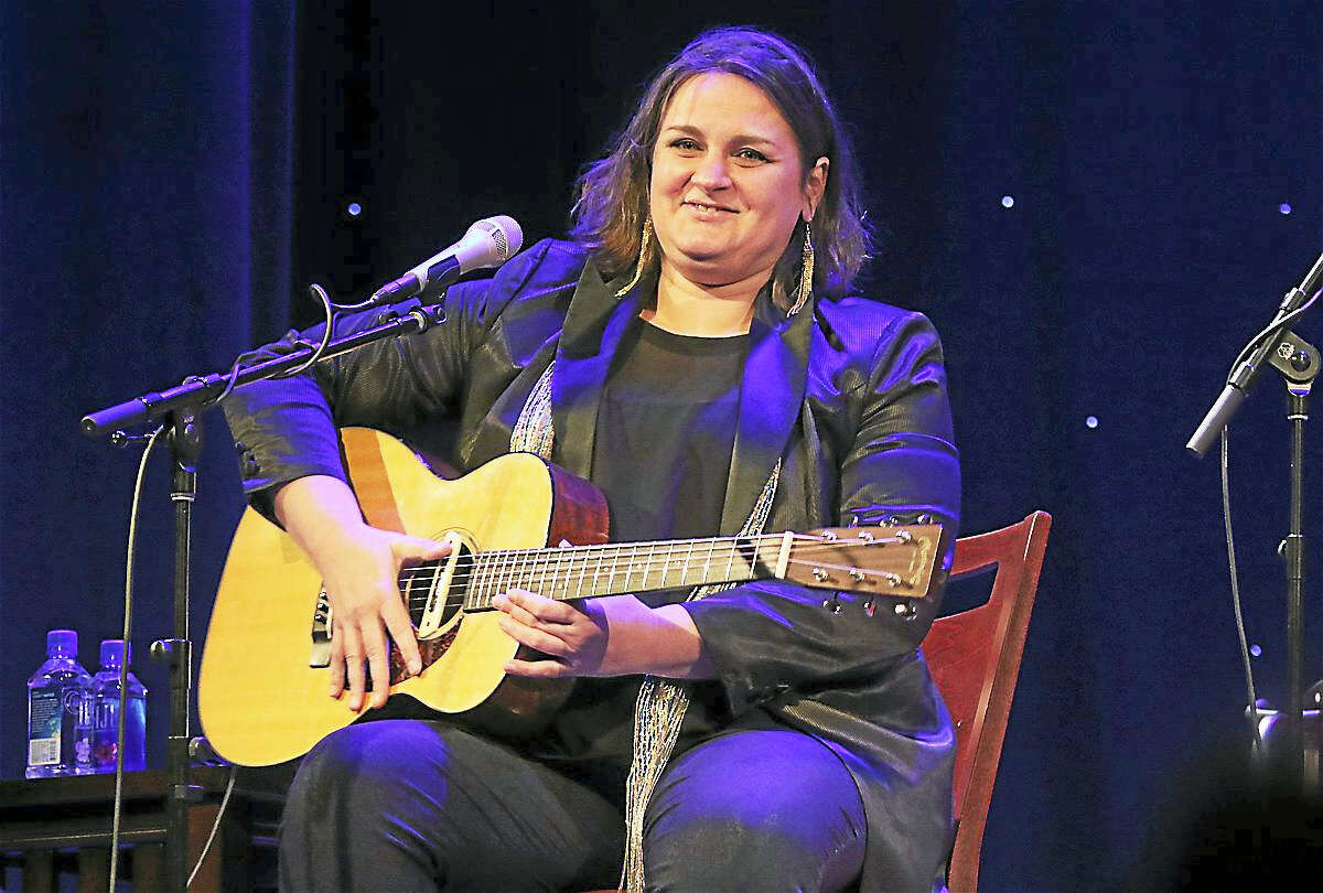 Photo by John AtashianSinger Madeleine Peyroux is shown performing on stage during her appearance at Infinity Music Hall in Hartford on Sunday, Nov. 6. The Award winning singer songwriter's music has been featured on HBO, NPR and radio stations all over the world. Peyroux's rendition of J'Ai Deux Amours is featured in the 2014 film, Diplomacy. To learn more about Madeleine, visit www.madeleinepeyroux.com