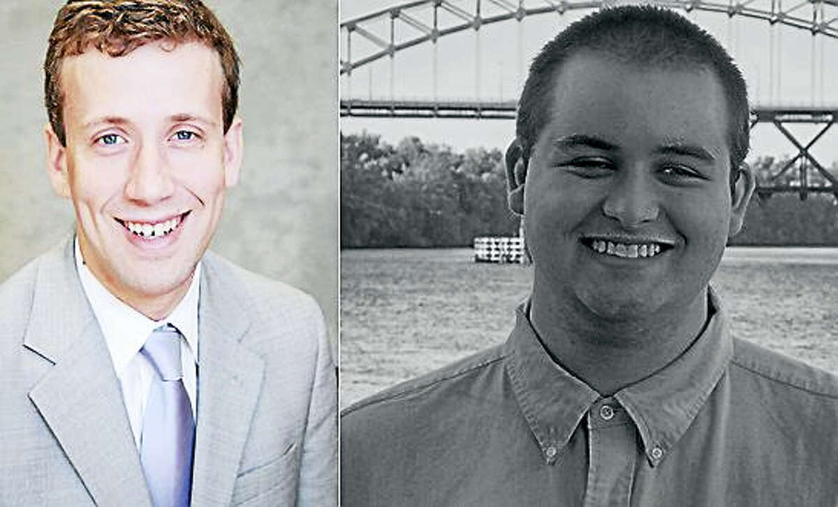 State Rep. Matthew Lesser and Republican challenger Anthony Moran of Middletown