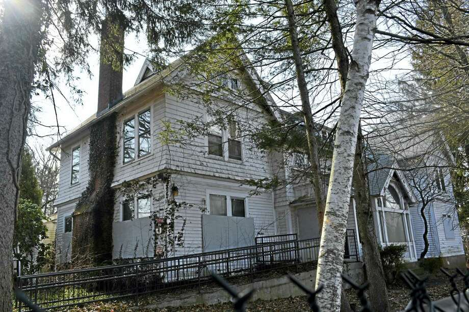 The former Elmcrest Hospital campus at 25 Marlborough St. in Portland is being considered for apartment units and retail/commercial uses. Photo: Cassandra Day — The Middletown Press