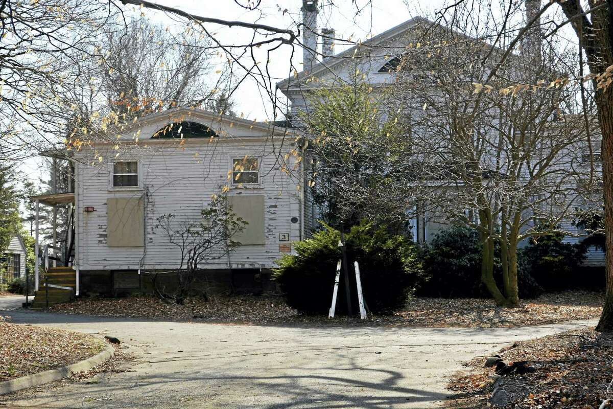 """The town's recently revised Plan of Conservation and Development includes plans for Elmcrest. """"They have the same goals as we do: to honor the heritage of the site and of the Portland community while promoting the redevelopment,"""" First Selectwoman Susan Bransfield said."""