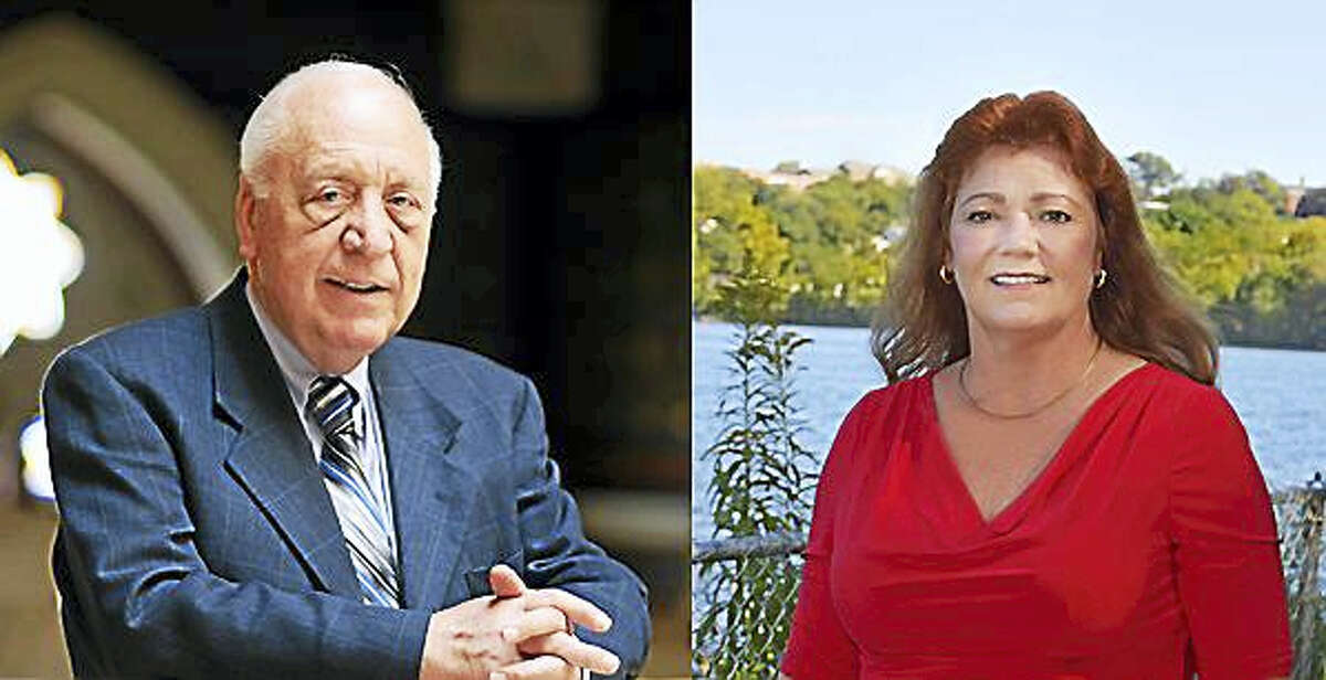 State Rep. Joseph Serra and Republican challenger Linda Synkowicz.