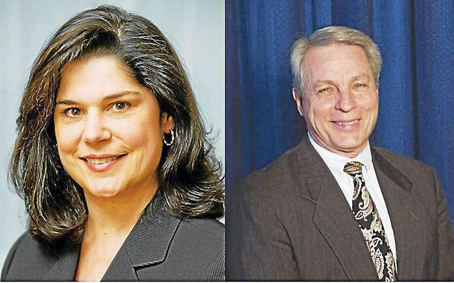 State Sen. Dante Bartolomeo and Len Suzio Photo: Journal Register Co.