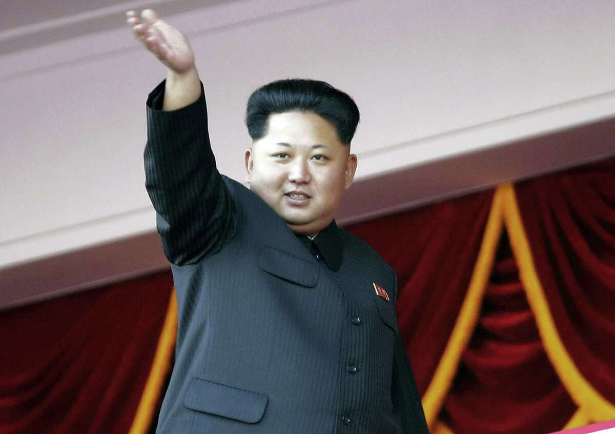 In this Saturday, Oct. 10, 2015, file photo, North Korean leader Kim Jong Un waves at a parade in Pyongyang, North Korea. North Korea is preparing to hold a once-in-a-generation congress of its ruling party that is intended to rally the nation behind leader Kim Jong Un and could provide an important glimpse into Kim's plans for the country's economy and military. The congress is set to begin May 6, 2016.