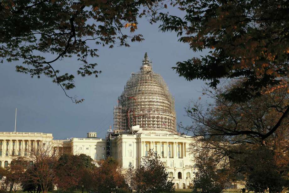 In this Nov. 22, 2015 photo, The Capitol dome is seen on Capitol Hill. Photo: AP Photo/Alex Brandon, File  / AP
