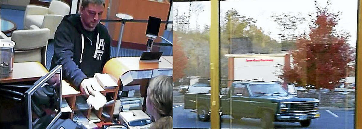 Police say a 31-year-old Meriden man robbed the Liberty Bank branch at 72 Berlin Road in Cromwell on Friday.