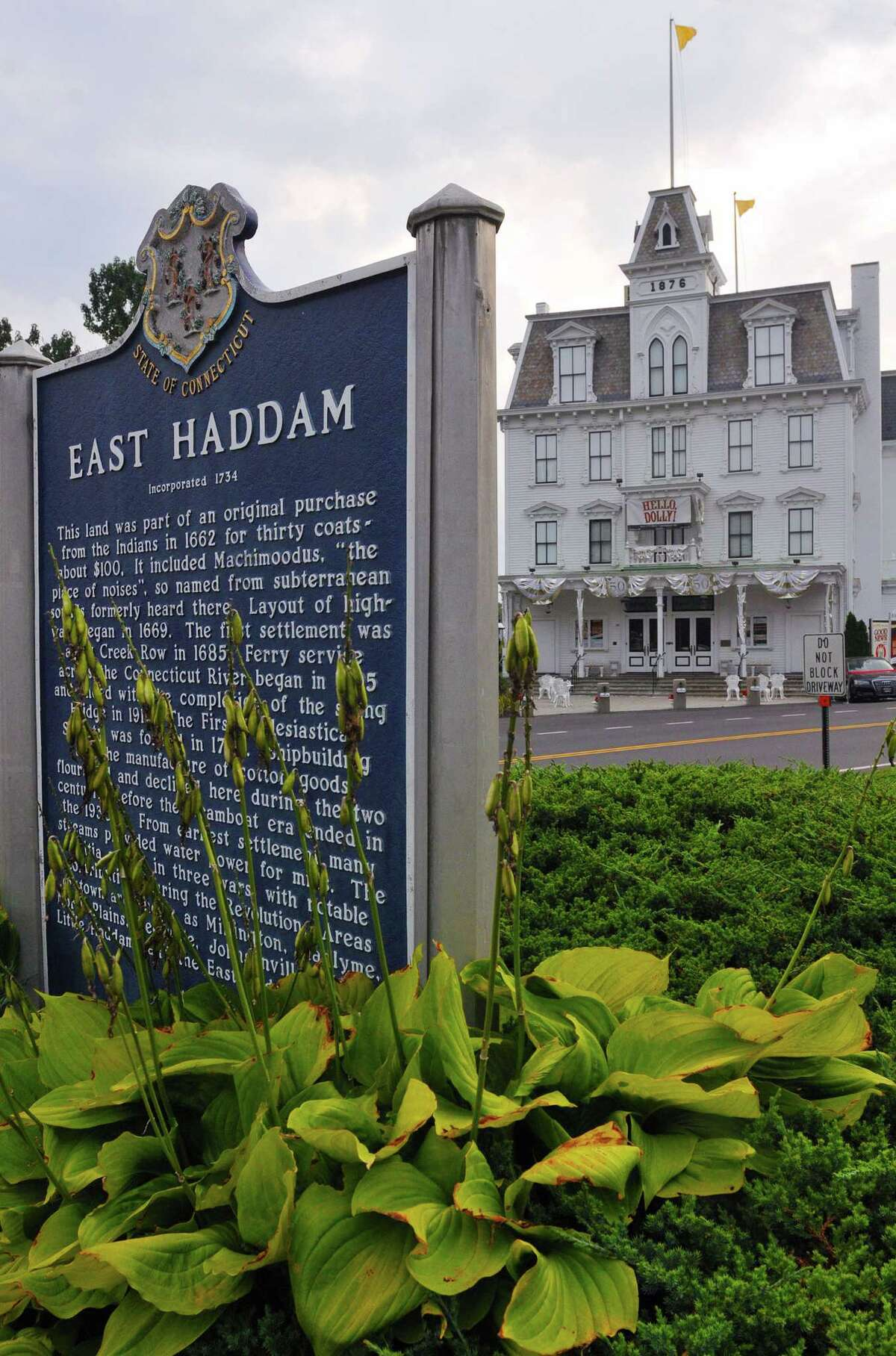Goodspeed Opera House in East Haddam. Catherine Avalone - The Middletown Press