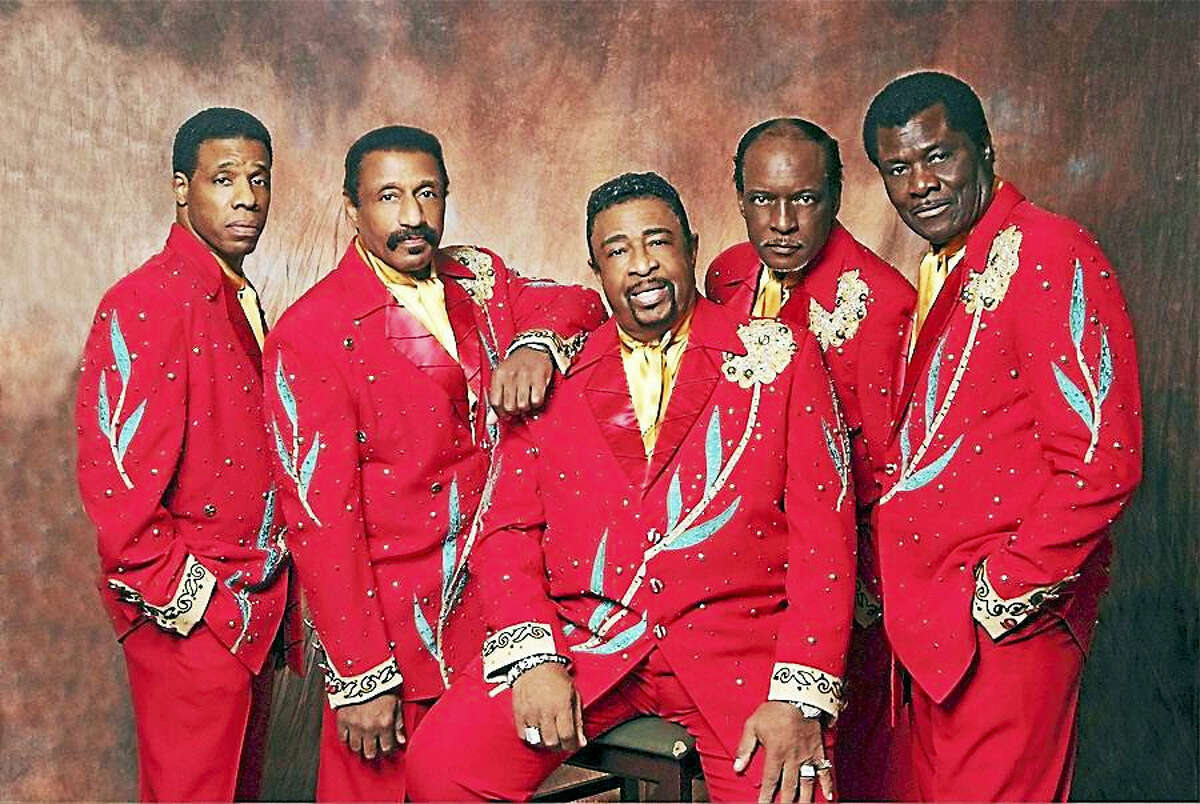 Dennis Edwards, center, with, from left, Paul Williams Jr., Mike Patillo, Chris Arnold and David Sea.